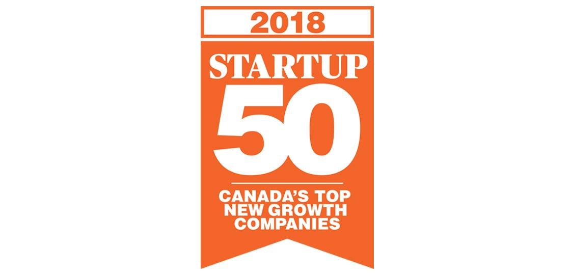 Blender Networks Inc. Ranks No. 35 on the 2018 Startup 50 | BlenderNetworks.com/Blog